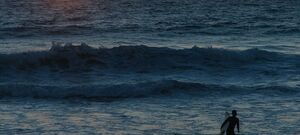 Henley Beach South Australia - Sunset Surfer