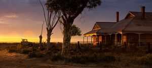 Port Wakefield South Australia - Sunset House