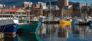 Hobart - City Harbour