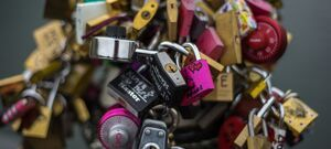 Love Locks Pont Des Arts Paris